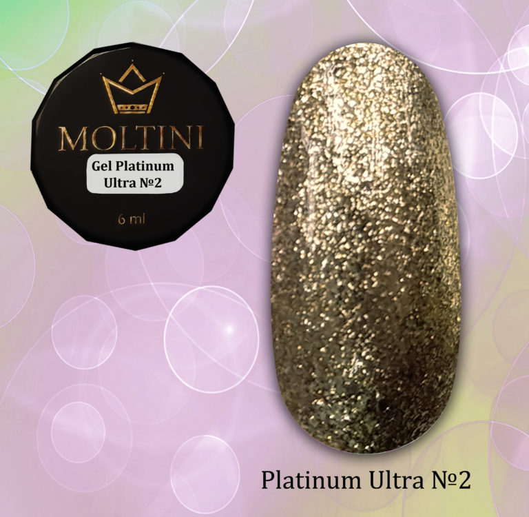 Moltini Gel-platinum Ultra №2. 6 мл.